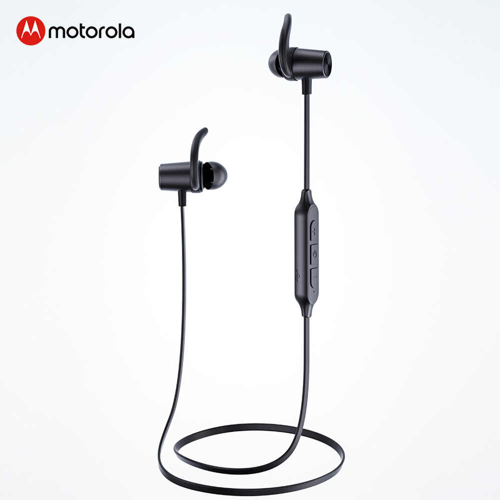Motorola VerveLoop105 Neck bluetooth earphone Magnetic Sports Headphones Active Noise Cancelling wireless headset with mic