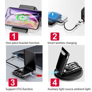 Image 5 - Wielofunkcyjny uniwersalny światła LED rodzaj USB C przenośny Adapter do kabla danych karty X6HA