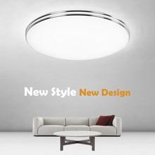 Ultra Thin LED Ceiling Lamp LED Modern Panel Light 12W/18W/24W/48W AC 220V Bedroom Kitchen Flush Mounted