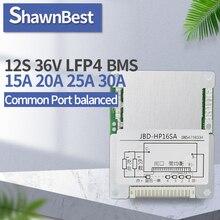 12S Lifepo4 Bms 36V 15A 20A 25A 30A Lithium ChargeสมดุลLi Ion Packเซลล์BMS 3.2V lifepo4แบตเตอรี่