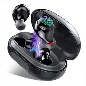 Image 1 - אמיתי אלחוטי Bluetooth אוזניות IPX8 עמיד למים אלחוטי Bluetooth אוזניות אוטומטי זיווג HD קול אוזניות 3500mAh תשלום תיבה