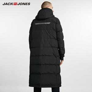 Image 4 - JackJones Mens Winter Long Hooded Duck Down Jacket Parka Coat Fashion Outerwear for Menswear 218312516