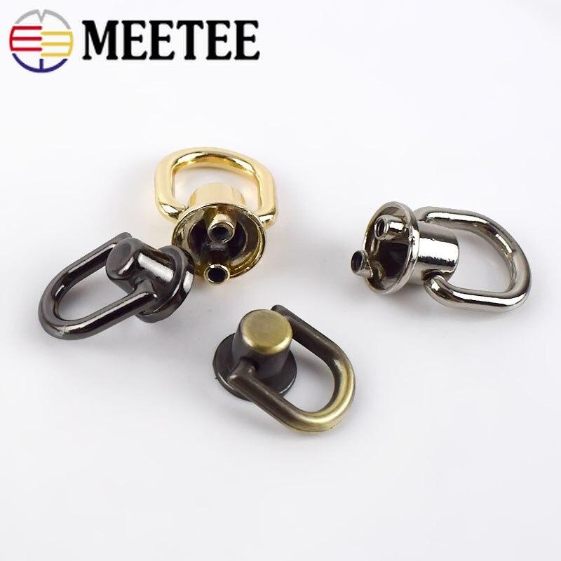 Handtasche Ersatzteil goldfarben T114 G/ürtel Taschenherstellung 1//2 inch // 13mm D-Ring mit Schraube Taschen abnehmbare Schraube f/ür Schnallen Schnallen