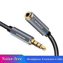 Anmck Jack 3.5 mm Audio Extension Cable for Huawei P20 lite Stereo 3.5mm Jack Aux Cable for Headphones Xiaomi Redmi 5 plus PC