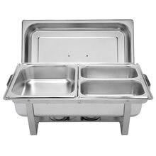 [us warehouse] zokop 9l * 2 три набора посуды 1*1/2 2*1/4 прямоугольная