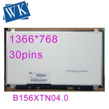 Darmowa wysyłka 15 6 ekran LCD Panel B156XTN04 0 B156XTN04 1 N156BGE-E42 N156BGE-E32 LTN156AT37 N156BGE-EA2 LP156WHB TPA1 tanie i dobre opinie MLLSE Hp compaq Asus Laptop 3-5days Taiwan 1366 x 768 500cd m 16 9 1000 1