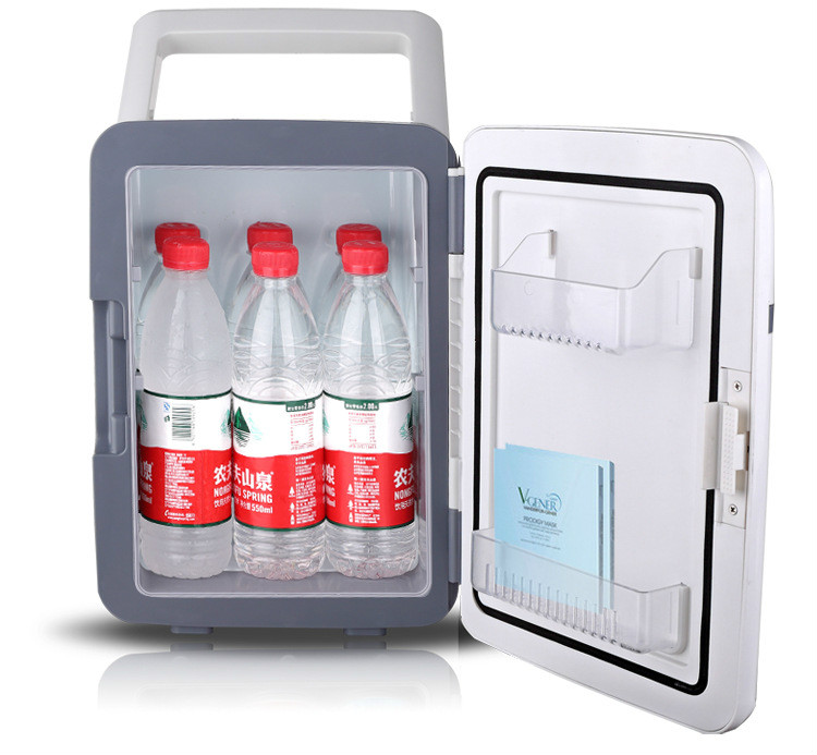 Limited 10l Small Refrigerator Cooling /heating Function Cheap Portable Office Fridge Freezers Sale Compact -2~60 Degree image