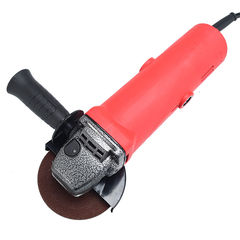 High Power Red Angle Grinder Hand  Angular  Metal Grinding And Cutting Electric Tool