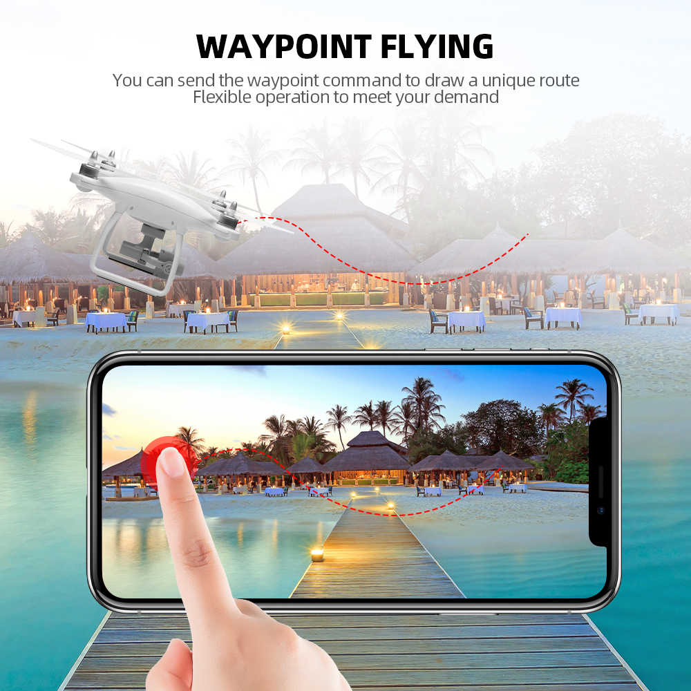 Wltoys X1 X1S Pro Gps Quadcopter Met Camera 4 K/1080 P Fpv Rc Drone 5G Wifi Borstelloze 2-As Zelf-Stabiliserende Gimbal Dron