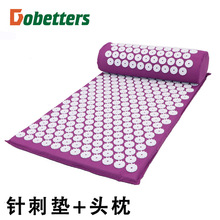 DOBETTERS Massager Cushion Acupuncture Mat and Pillow Relieve Stress Back Pain Rose Spike Massage and Relaxation