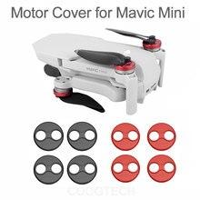 4 шт. DJI Mavic мини аксессуары крышка двигателя протектор для Mavic мини Дрон алюминиевый колпачок защита двигателя Защитный пыленепроницаемый