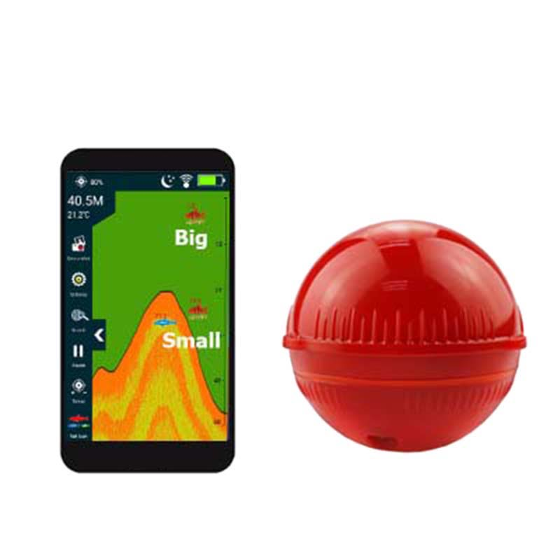 Erchang F3W Portable Fish Detector Fishing Echo Sounder 48M/160Ft Sonar Sensor Depth Fish Finder Fishing Alarm Ios And Android(R