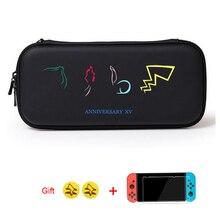 Bolsa impermeable de la caja de almacenamiento de EVA para Nintendo Switch NS bolsas de transporte de la consola Nintendo Switch Lite accesorios de juego regalo