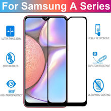 500D Protective Glass on the For Samsung Galaxy A10 A20 A30 A40 A50 A60 A70 A80 A90 M40 M30 M20 M10 Glass Lens Screen Protector