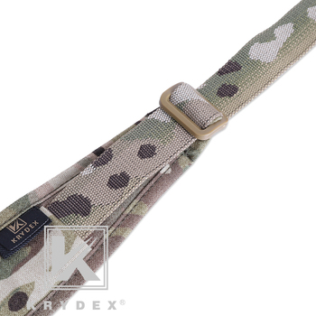 KRYDEX Modular Rifle Sling Strap Removable Tactical 2 Point / 1 Point 2.25 6