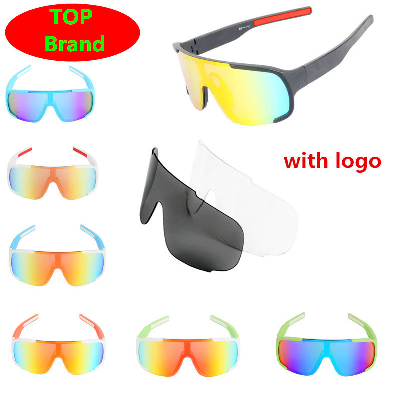 Top Brand P 3 Lens Cycling Glasses Red Polarized Bike Bicycle Sunglasses Goggles Eyewear Rudis Foxe Lazer Cube Tld Sagan Bora D