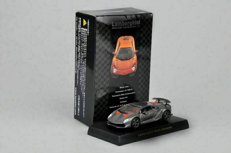 Kyosho 1/64 Sesto Elemento Minicar Racing Car Model Toys Collection