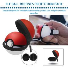 Carry Case for Poke Ball Plus Controller Protective Hard Portable Travel Pokeball Case Bag for Nitendo Switch 2019new(China)