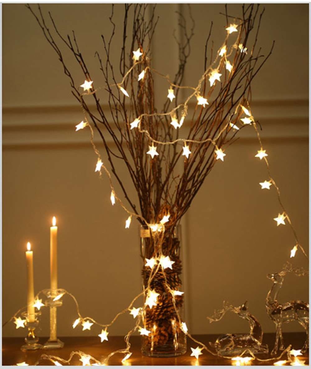 Copper Wire Led String Lights Holiday