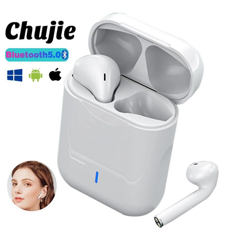 TWS беспроводные Bluetooth-наушники, спортивные водонепроницаемые наушники, музыкальные наушники с шумоподавлением, гарнитура Hands-Free для всех см...