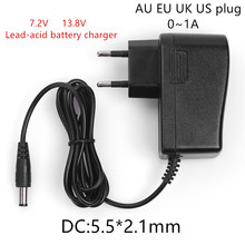 AC 100-240V DC 7.2V 13.8V 1A Charger Power Supply Adapter 7.2 13.8V 1000MA Lead-acid Battery Charger