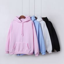 Oversized hoodies womens clothing 2020 pink hoodie woman clothes