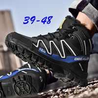 Inverno Degli Uomini di Alta Aiutare Le Scarpe di Grandi Dimensioni Scarpe di Cotone di Spessore Scarpe Da Ginnastica Da Uomo Traspirante Outdoor Scarpe Da Ginnastica Zapatillas Hombre Scarpe Uomo
