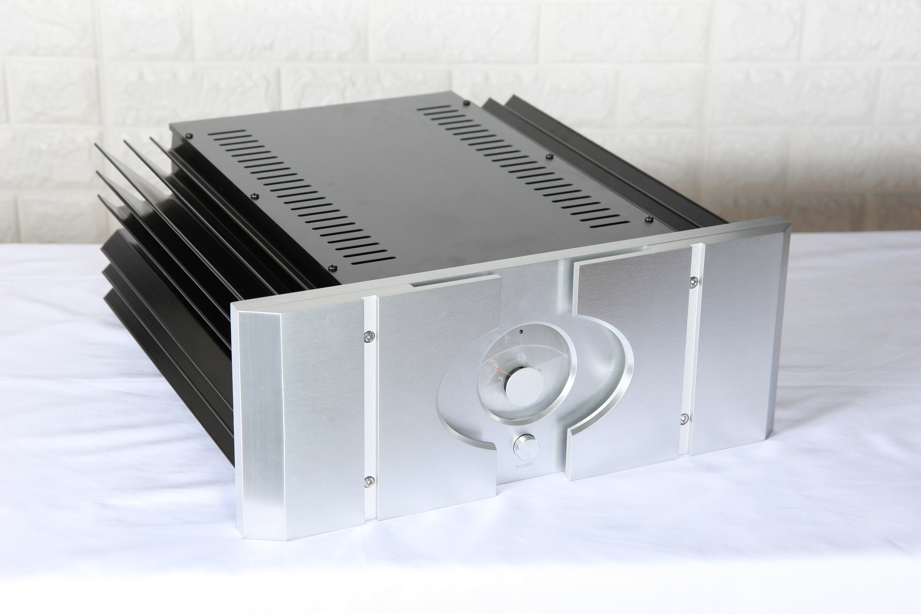 KYYSLB 430mm*430mm*170mm Amplifier Chassis Installation PASS XA 30.5 All Aluminum Large Power Amplifier Chassis DIY Housing|Amplifier|Consumer Electronics - title=