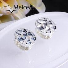 MeiceM 2021 New Geometric Hollow Ring Women
