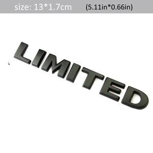 DSYCAR 1 шт. 3D металлическая ограниченная Автомобильная боковая Эмблема багажника эмблема значок наклейки для JEEP Wrangler Компас коммандер Cherokee