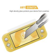 Screen-Protector Films Switch-Lite Tempered-Glass Nintend for Full-Hd Clear 2pcs Oil-Proof