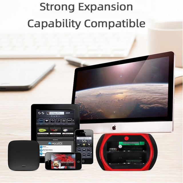 TISHRIC ALL in One HDD Docking/Dock Station HD Dual SATA IDE to Usb 2.0 2.5 3.5 External Hard Drive Reader Housing Case HD BOX 1