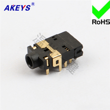3 PCS Headphone socket 10 pins and 2 fixed 3.5MM mother power supply PJ-32250