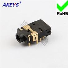все цены на 3 PCS Headphone socket 10 pins and 2 fixed pins 3.5MM socket mother socket power supply socket PJ-32250 онлайн