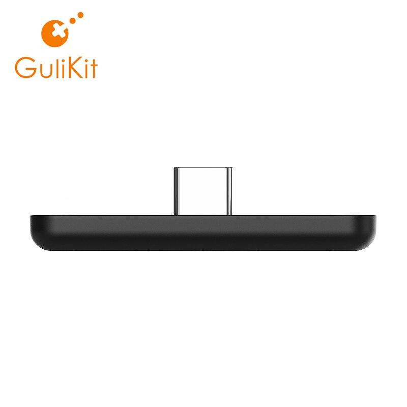 Adaptateur Audio sans fil Bluetooth GuliKit NS07 Route Air ou transmetteur type-c pour la Nintendo Switch Switch Lite PS4 PC