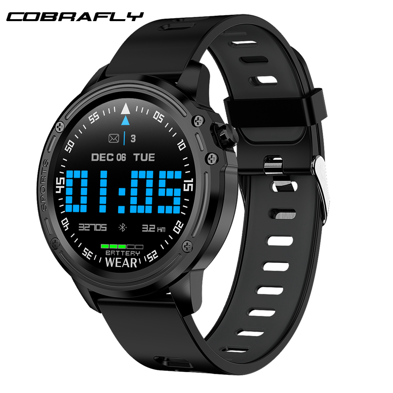 Cobrafly Smart-Watch L8 Fitness-Tracker Blood-Pressure-Monitor IP68 Sports With Waterproof