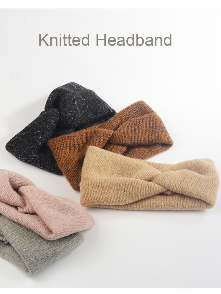 Baby Headband Hair-Accessories Turban Spring Twisted Toddler Girl Kids Women Woolen Mommy