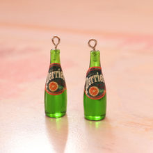 5PCS Resin Sake bottle Charms Jewelry Necklace Pendant Keychain Charms For Earring DIY Bracelet Decorations Jewelry Accessory(China)