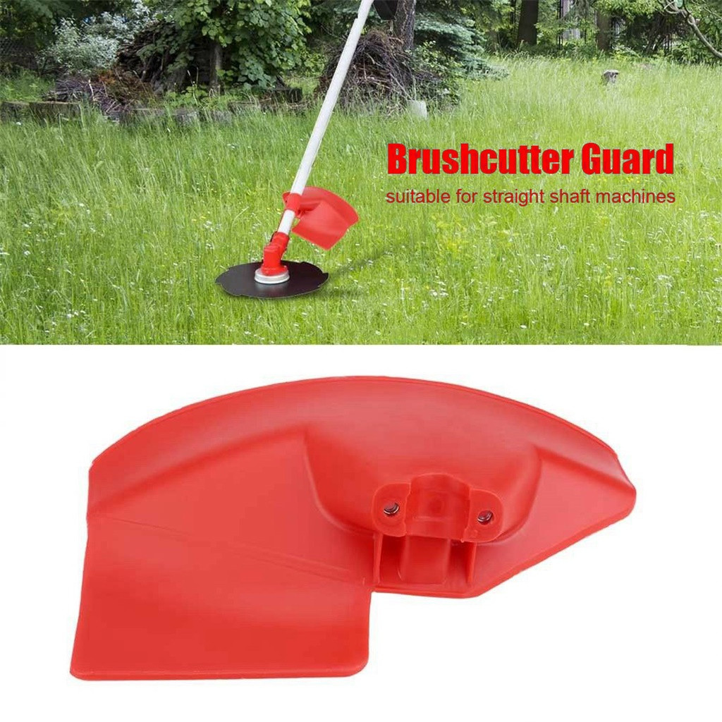 40^Plastic Brushcutter Guard Shield For 24 26 28mm Shaft Brush Cutter Trimmer Garden Grass Brush Cutter Tools Spare Parts