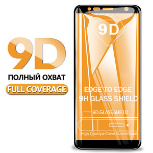 9D Protective Glass On The For