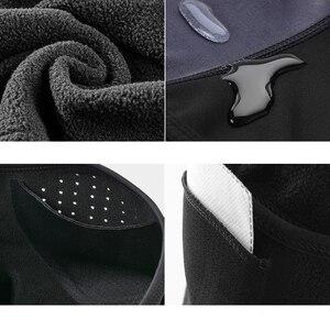 Image 5 - ROCKBROS Winter Cycling Mask Fleece Thermal Keep Warm Windproof Cycling Face Mask Balaclava Ski Mask Fishing Skiing Hat Headwear