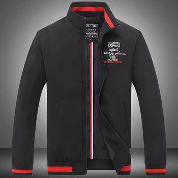 2020 New Fashion Autumn Male Outwear Zipper Jacket Quality Shark Brand Casual  Men's Long Sleeve Coats Loose Clothing Plus 4XL