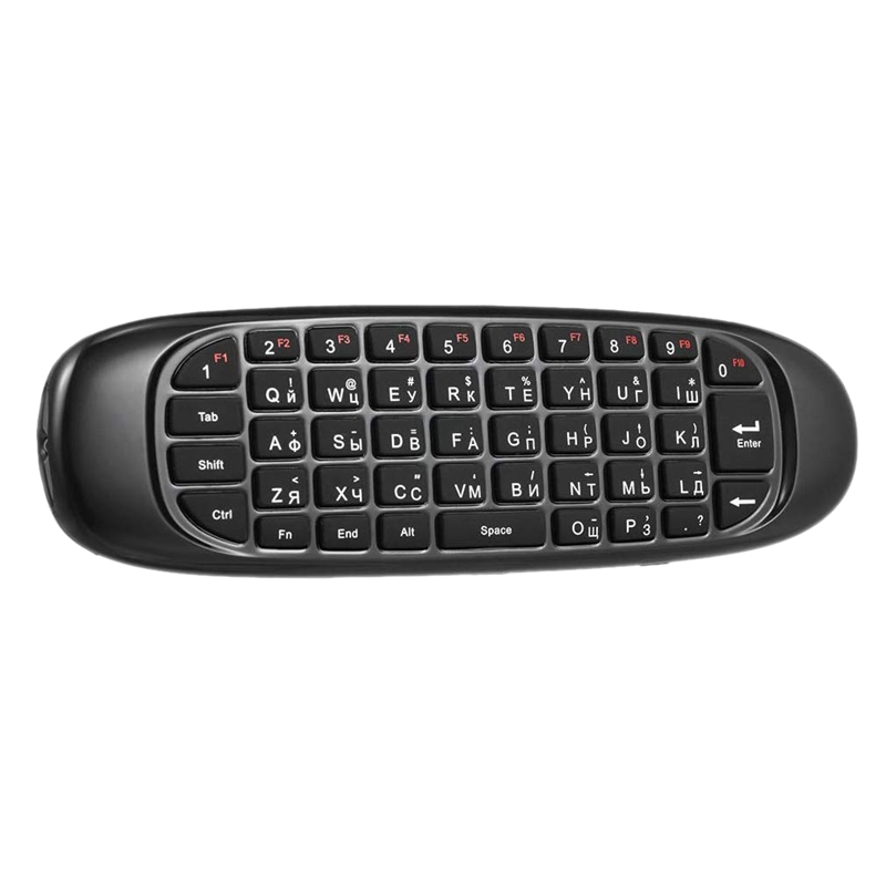 English Version 2.4G Mini Fly Air Mouse Wireless Keyboard Remote Control Gyroscope with Voice Backlight for Android Smart TV Box