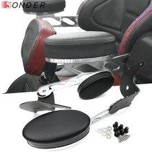 Sıcak satış motosiklet arka ayarlanabilir yolcu kol dayama aksesuarları Honda Goldwing GL1800 2001 2017 kol parçaları 2016 2015