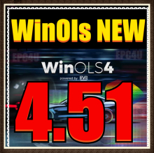 Best WinOLS 4.51 More Plugins Fix Checksum More Functions than WinOLS V4.26 Auto ECU Chip Tuning Software For KESS/KTAG/FGTECH