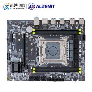 ALZENIT Server Xeon DDR4 X99M-CE5 Intel X99 USB3.0 M.2 for LGA E5-Support ECC REG 64GB