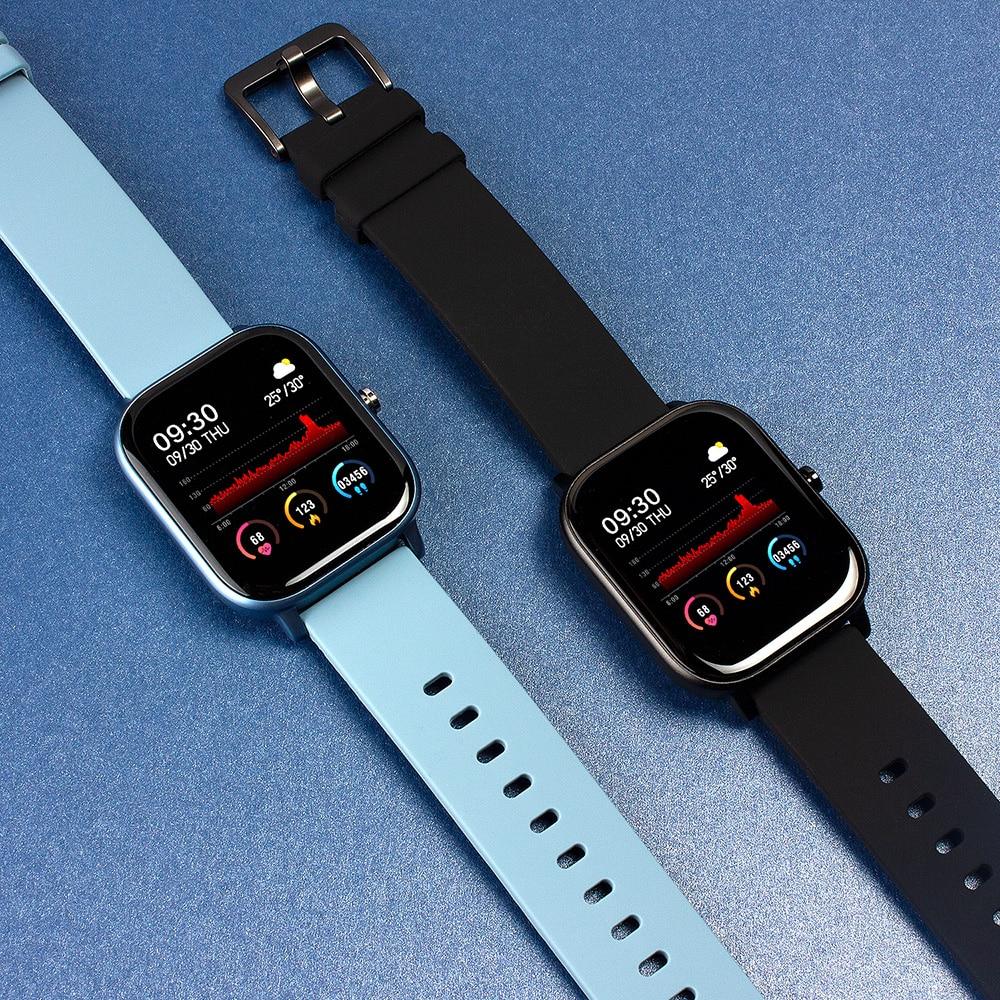 COLMI P8 1.4 pollici Smart Watch uomo Full Touch Fitness Tracker pressione sanguigna Smart Clock donna GTS Smartwatch per Xiaomi 2
