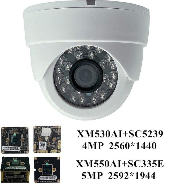 5MP 4MP IP Ceiling Dome Camera H.265 3516EV300+SC5239 2592*1944 2560*1440 IRC ONVIF CMS XMEYE P2P Motion Detection NightVision