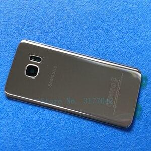 Image 5 - Capa de bateria traseira s7, cobertura de bateria para samsung galaxy s7 edge g935 g935f g935fd s7 g930 g930f ag capa com estojo