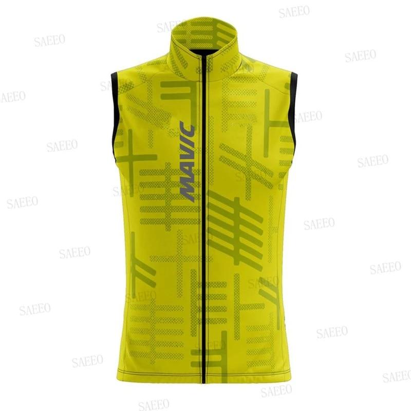 Details about  /2021 Mens cycling jerseys Cycling Vests Windproof vest Sleeveless Jersey Pockets